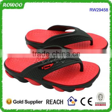 Man Thick EVA Slipper outdoor indoor,Red wholesale man slipper