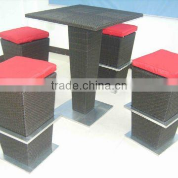 cheap outdoor bar table sets