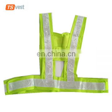 Wholesale Reflective Safety Warning Polyester Led Vest