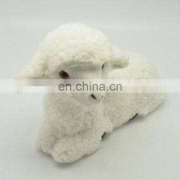 one pair rabbit fur toys stuffed rabbit toys 7cm