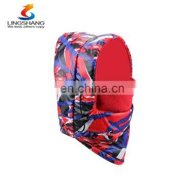 Fashion Winter Windproof Warm Beanie Hat Elastic Breathable Ski Outdoor Riding Cap