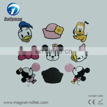 Customized high quality rubber fridge magnet
