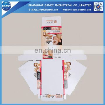 Promoitonal custom template cardboard display box with printing