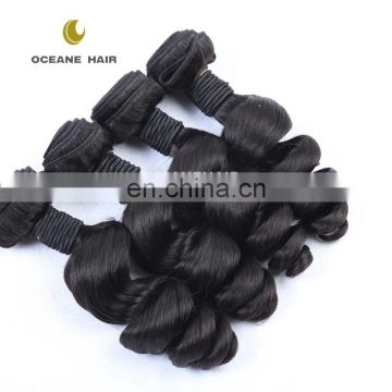 Top selling wholesale beautiful 2016 new coming most beautiful virgin 100% malaysian brazilian loose wave hair