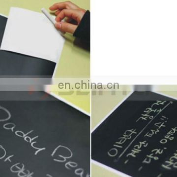 High Quality Folding school blackboard with 5 piece colorful chalk