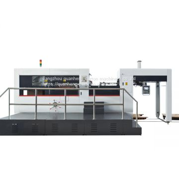 Automatic Creaing and Die Cutting Machine, Flat bed die cutting machine