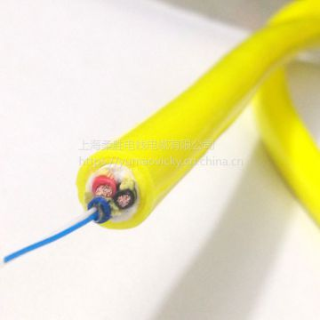 External Electric Cable Yellow 2cores - 91cores