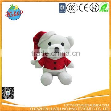 2017 Christmas white bear for promotion and gift