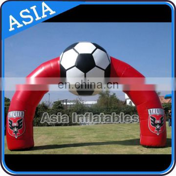 Commercial Inflatable Football Arch , Football Theme Inflatable Arch , Outdoor Decorative Arch