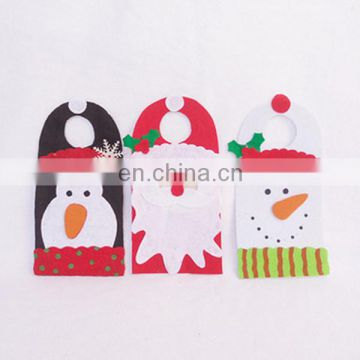 santa claus snowman deer christmas decorations christmas door wall hanging ornaments
