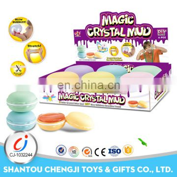 Lovely funny kids gift magic handmade colorful mud crystal clay