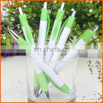 Top quality promotion logo plastic ball pen advertising cheap plastic pen