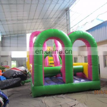 Trade Assurance wipeout inflatable games china kids obstacle course for wholesales