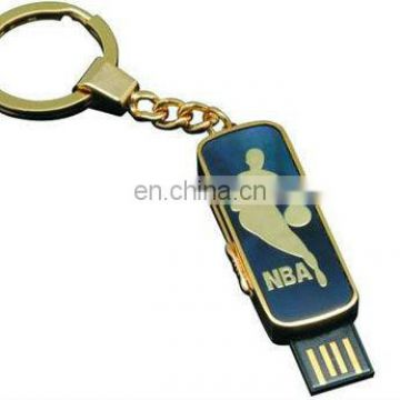 metal usb stick with key chain\silicone usb key chain
