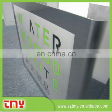 personalized outdoor metal sign for advertisement;aluminum road sign