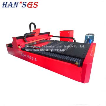 500W 1KW 2KW 3KW Galvanized Iron / Stainless Steel Laser Cutting Machine