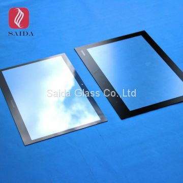 custom front cover glass for LCD Screen front protetive optical glass