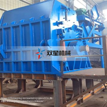 Scrap Rubber Recycling tire shredder machine rental