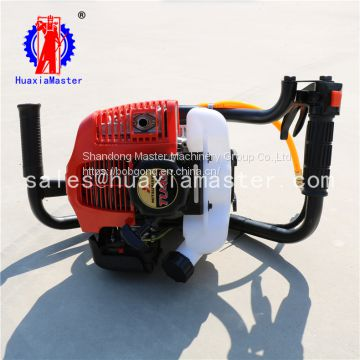 huaxiamaster supply  10meters backpack Portable hand held diamond core drill rig for sale
