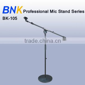 professional metal iron block music microphone stand BK-105