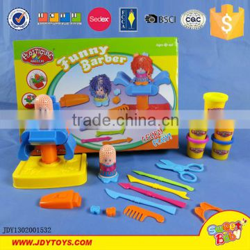 3D coloured plasticine dough clay with hambruger extruding machine distribution mold tool kit