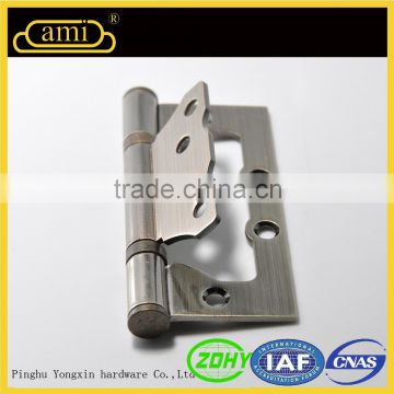 good surface angle adjustable double sided door hinge