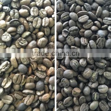 2017 hot sales process machine for coffee bean separation/coffee bean color sorter