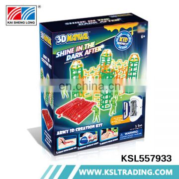 China wholesale hot items diy toys boys and girls printer 3d game