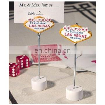 'Welcome to Las Vegas' Place Card Holders
