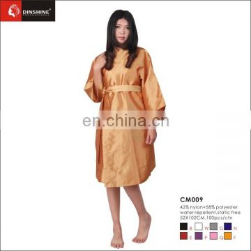 High quality soft nylon kimono salon kimono for stylish in guangzhou