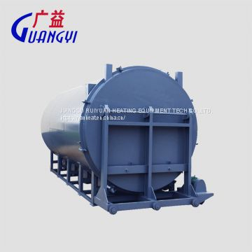 polymer pyrolysis furnace for clean screw and filter in plastiic industry