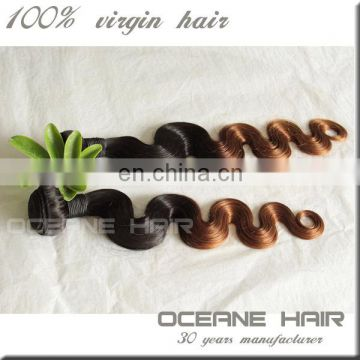 wholesale ombre two tone mixed colored body weave