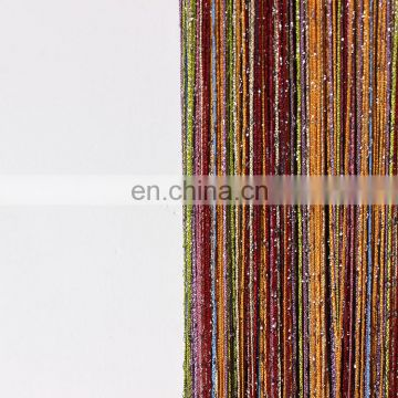 Kitchen room fringe voile curtain for home decor