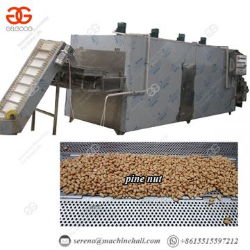 Nut Roasting Equipment Continuous Nut Roasting Machine Chemical Industries