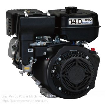 Factory Supply EX40 14HP Air-cooled Single cylinder 4 Stroke Gasoline Engine