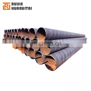 Oil industry api 5l spiral pipe psl2 spiral welded steel pipe schedule 80 spiral pipe price