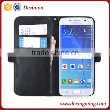 for samsung galaxy s3 s4 s5 s6 s7 s6 edge s7 edge note 2 3 4 j4 j5 j7 wallet case