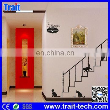 Cheap Price High Quality DIY Removable Decorative PVC Wall Sticker ,stair wall sticker