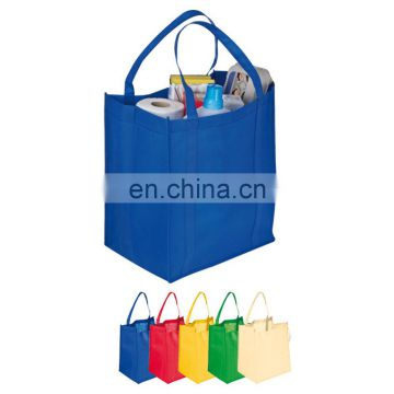 Promotional Non Woven Bag/Non woven Shopping grocery fruit and food Tote Bag BAG088