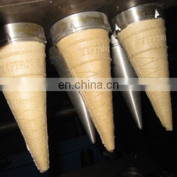 Industrial Semi Automatic Horn Torch Cup Waffle Ice Cream Cone Making Machine Commercial Ice Cream Cone Machine For Sale