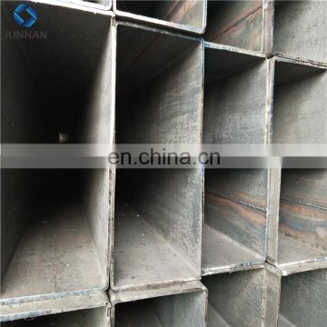Hot selling black steel pipe rectangle tube square pipe