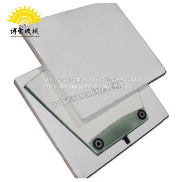Low-cost industrial zirconia ceramic vacuum filter plate
