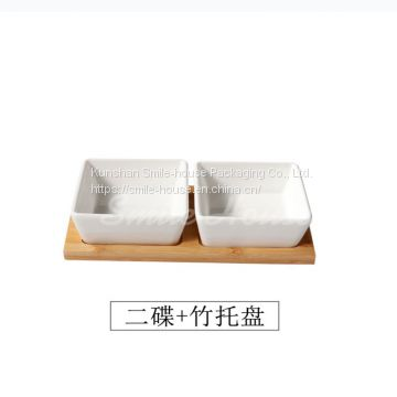 Small size appetizer ceramic plates