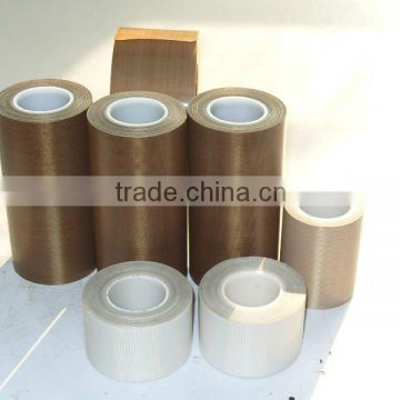 Black PTFE cloth tape/heat resistant PTFE tape/high temperature PTFE tape/PTFE adhesive tape