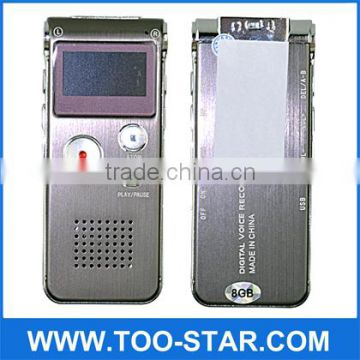Gift gadget Digital Voice Recorder 4GB/Sound Recorder