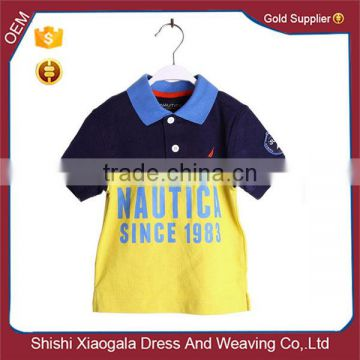 fc1731d5 Top Quality Wholesale Custom-made Latest Dress Design Soft Textile Summer T- shirt for Boys of Boys Polo from China Suppliers - 144829054