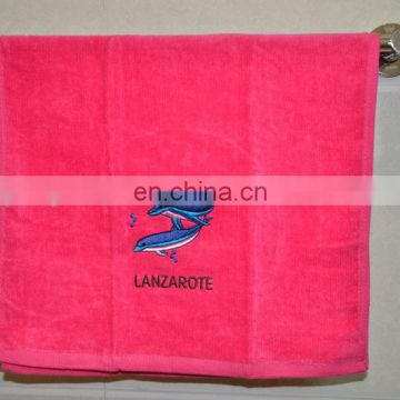 With embroidery logo personalized sports towels print your name