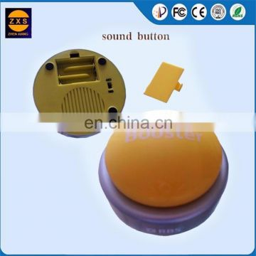 Plastic Buzzer Talking Buttons,Buzzer USB Button With Custom
