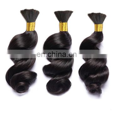 new premium quality raw virgin unprocessed 100 human hair extension soft and smooth wholesale cheap virgin indian hair bulk