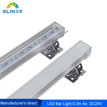 LED rigid bar 0.3m 4w hard strip for cabinet and freezer lighting